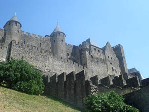 The Chateau Comptal at Carcassonne